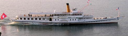 """Promenade en bateaux """"Belle époque"""" sur le lac Léman 39849c10"""