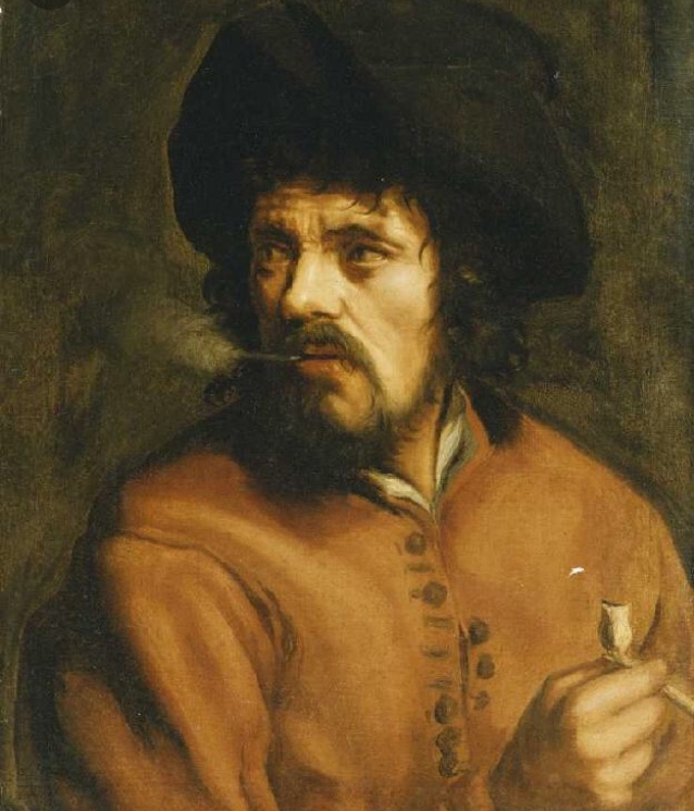 Tableau de fumeur de pipe  Ff35cb10