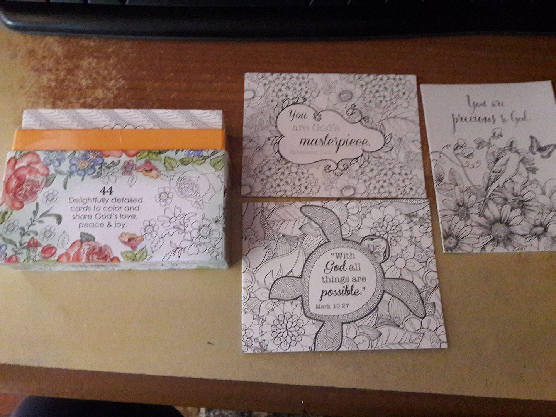 petites cartes a colorier Colorful Blessings 32294411