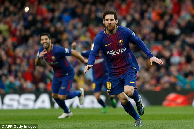 Diego Simeone says his side would have won if they had Lionel Messi  49d2c310