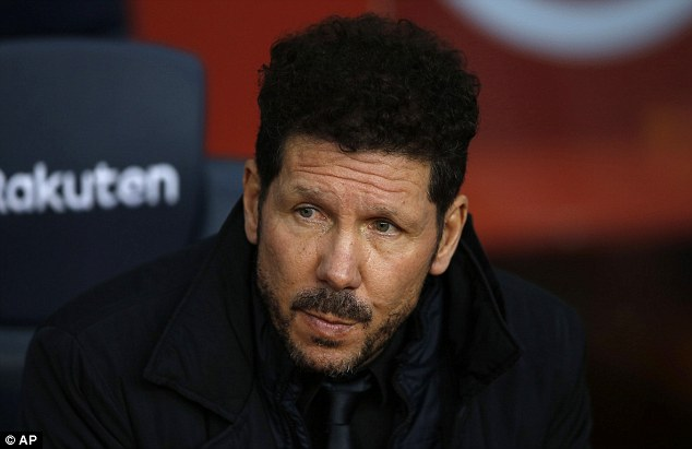 Diego Simeone says his side would have won if they had Lionel Messi  49d2f110