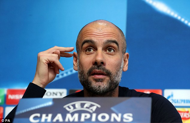 Pep Guardiola warns his Manchester City stars not to lose their heads  49ec4f10
