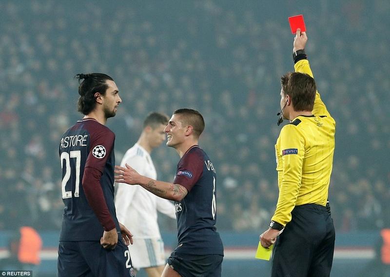 Paris Saint-Germain 1-2 Real Madrid (Agg 2-5):  49f0d910