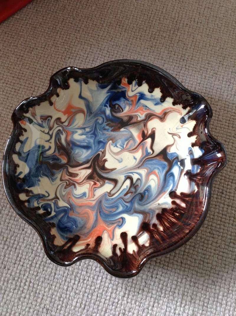 Slipware bowl / dish - Ceramy, Catalan, Spain Image54