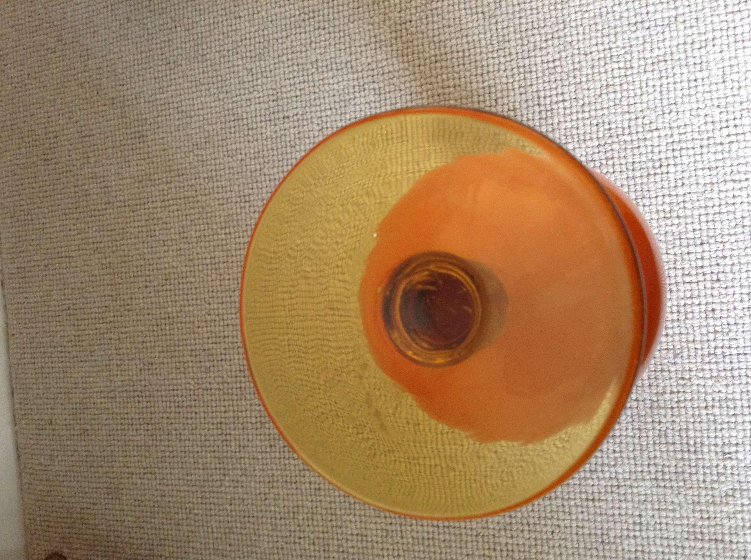 Orange glass vase Image78