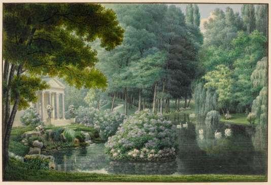 Dans les jardins de l'impératrice Joséphine 0503b910