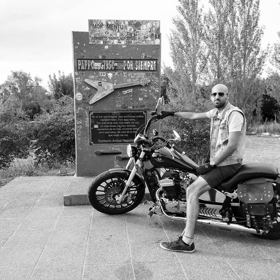 Una moto con Sabor a Historia Pappo11