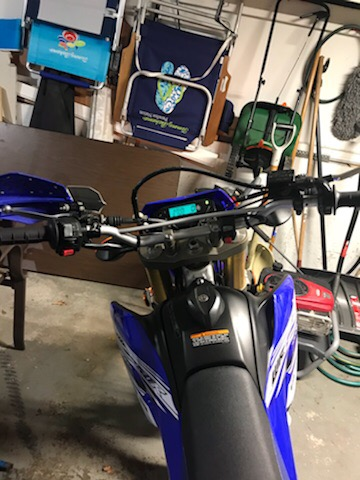 Looking at 2016 WR250R for sale with bent bars Img_9217