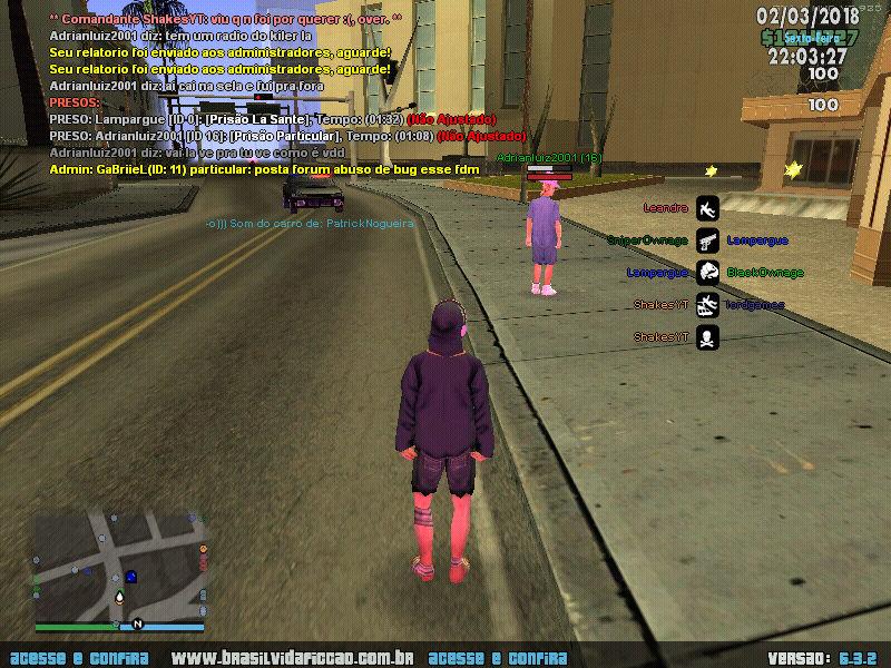 [DENUNCIA] AdrianLuiz2001 Bug10