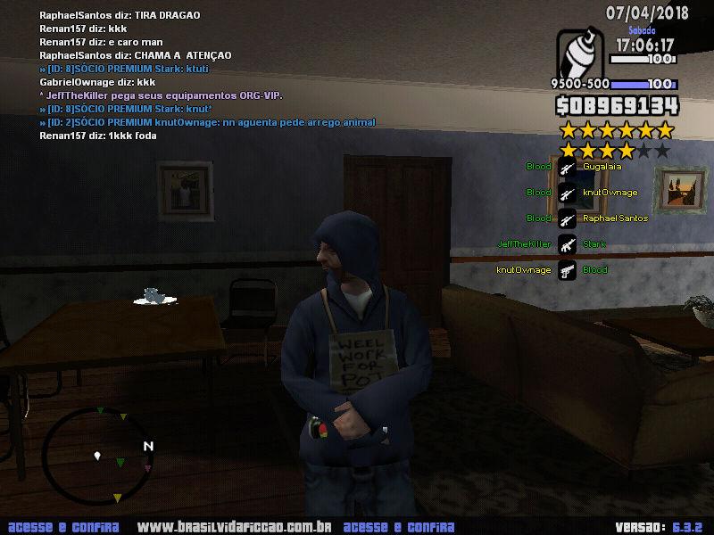 KnutOwnage fazendo db e ofendendo a Staff Db_210