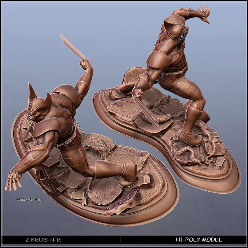idée de sculpt pour un kit Marvel 12940610