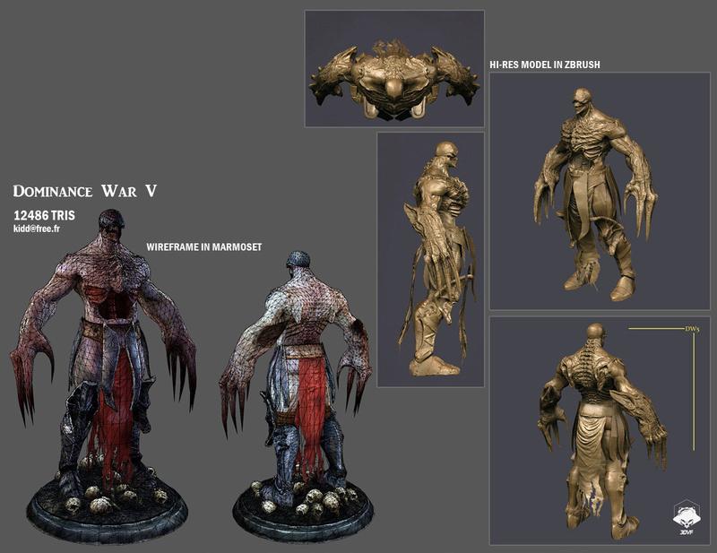 idée de sculpt pour un kit Marvel 13063311