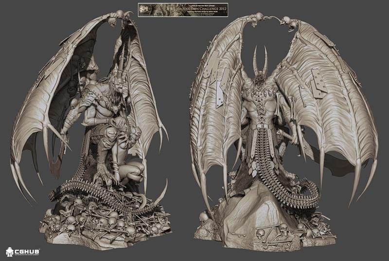 idée de sculpt pour un kit Marvel 13371812
