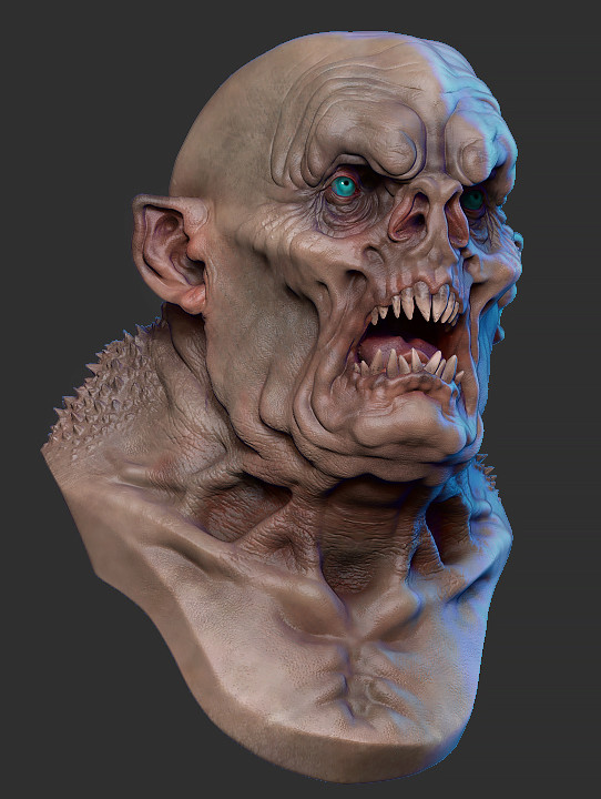 idée de sculpt pour un kit Marvel Nosfer12
