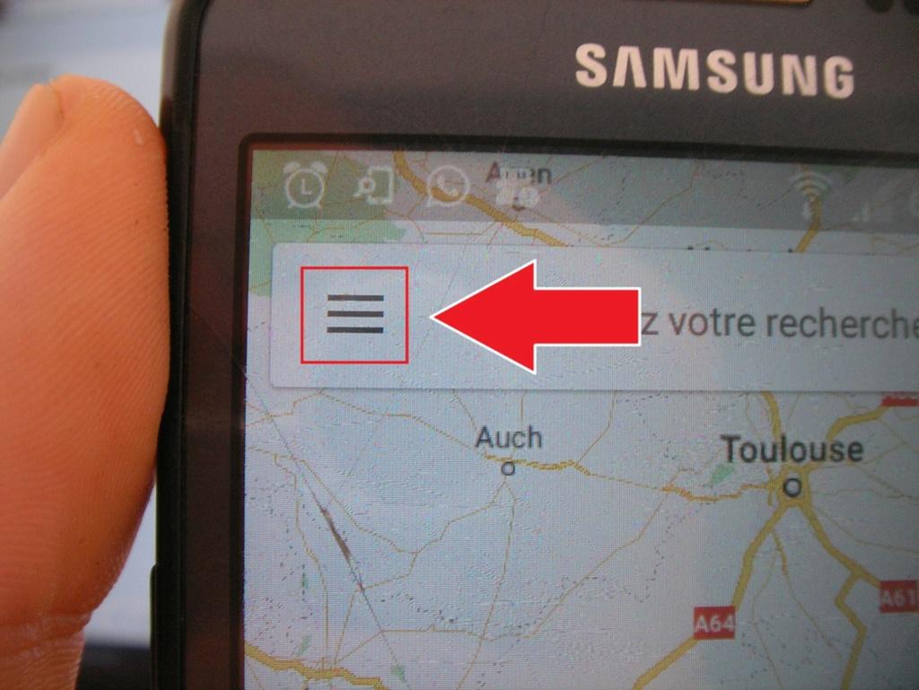 Manip : télécharger les cartes et le parcours sur votre téléphone 211
