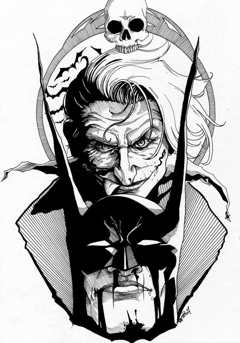 Des gribouillages Joker12