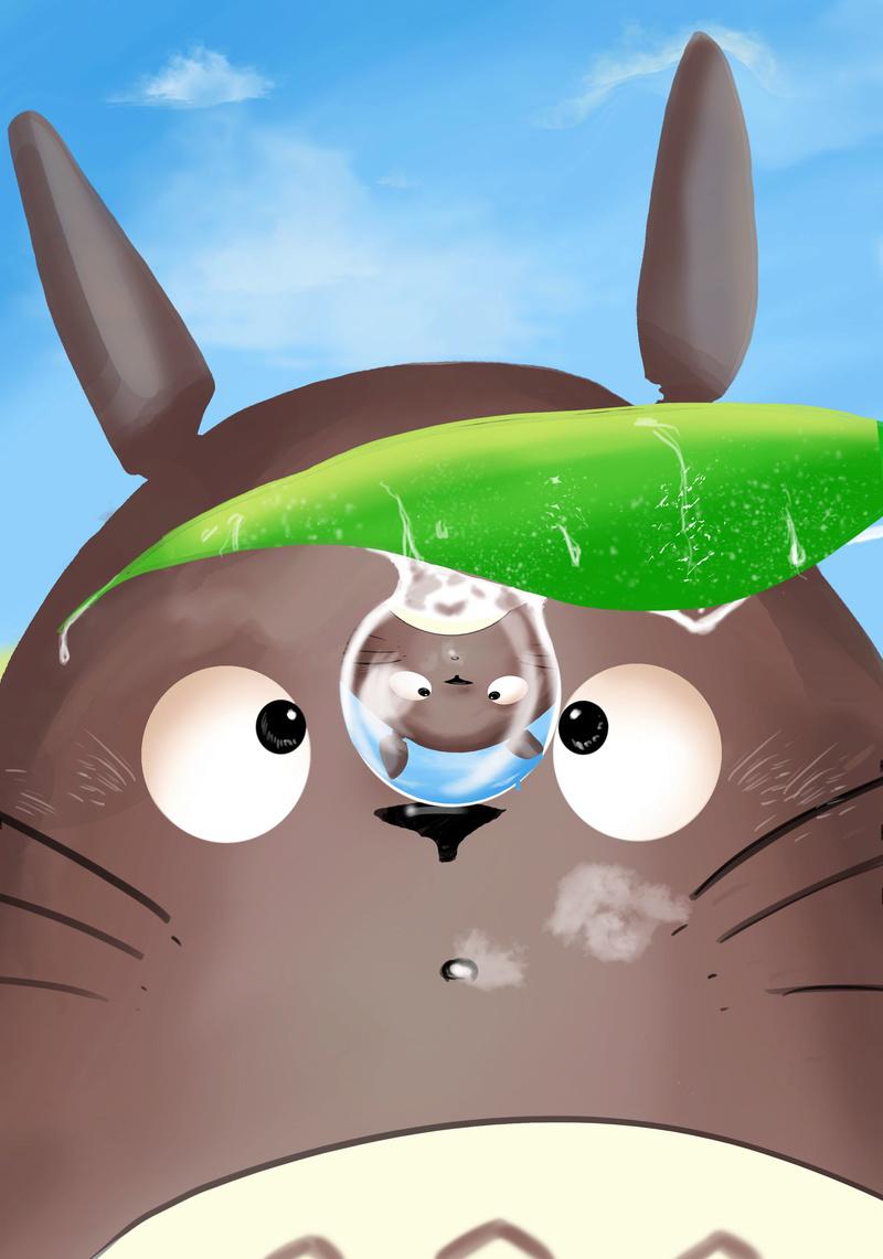 Des gribouillages Totoro12