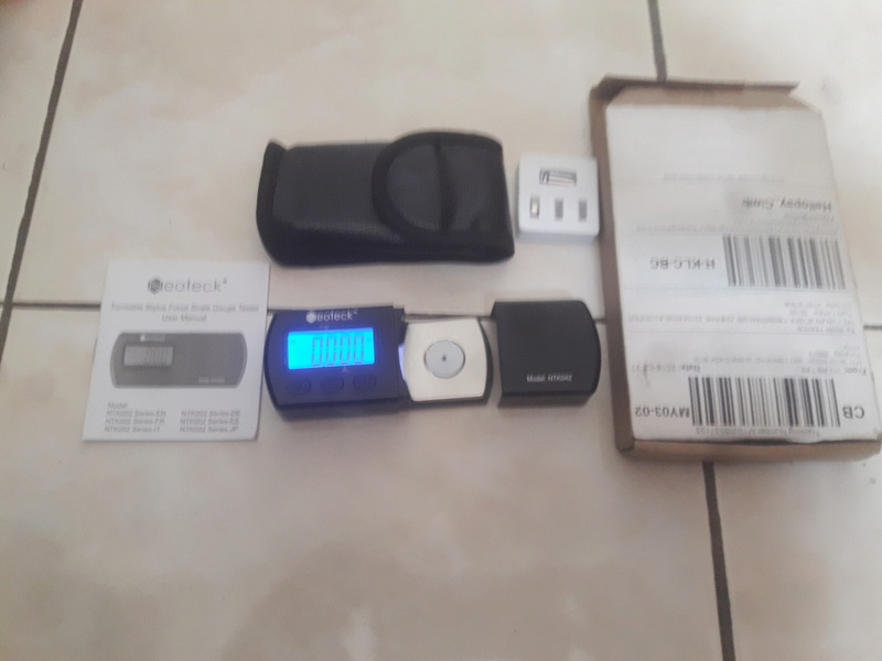 Digital cartridge tracking force 20180122