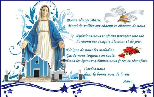 Mois de Mai - Mois de Marie - Prières à Marie Marie10