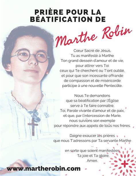 Prière pour la béatification de Marthe Robin Marthe10