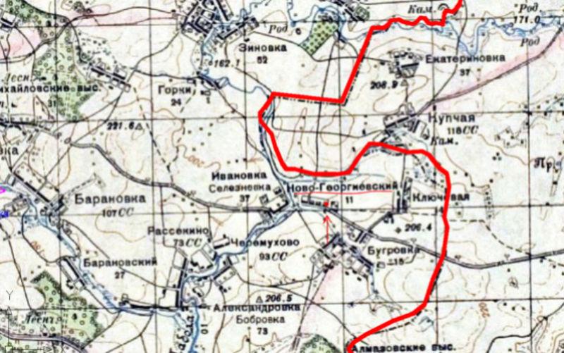 Мартыхины, д.Ивановка-Селезневка приход села Черемухово 1211