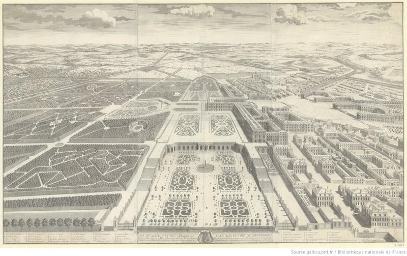 Vues anciennes du Château de Versailles et de son Domaine - Page 2 Vuy_du10