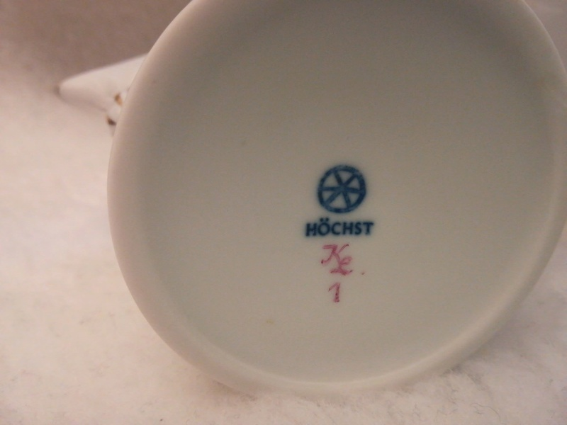 Dating Hochst porcelain service tea  9dzksf11