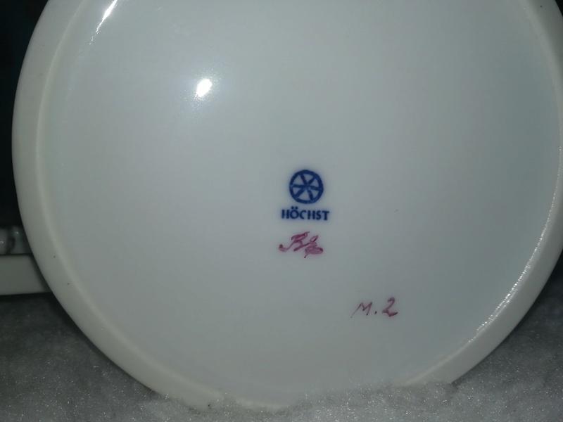 Dating Hochst porcelain service tea  A7xxnb11