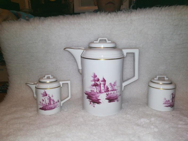 Dating Hochst porcelain service tea  Pjm8ae11
