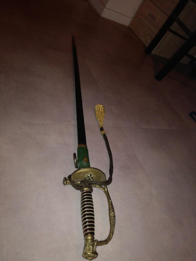 Sabre ancien balp spécial 15201016
