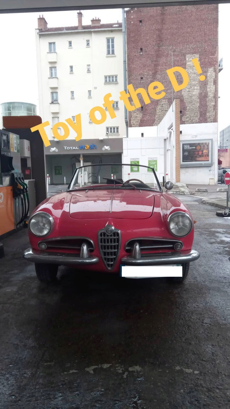 New in the family - Giulietta Spider  Img_2010