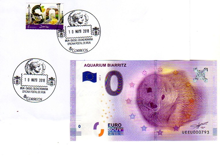"BILLETES ""O"" (ZERO) EUROS.................(en general) Billet12"