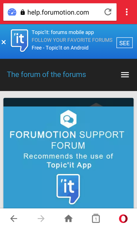 Mobile page never suggest topik'it app installation 210
