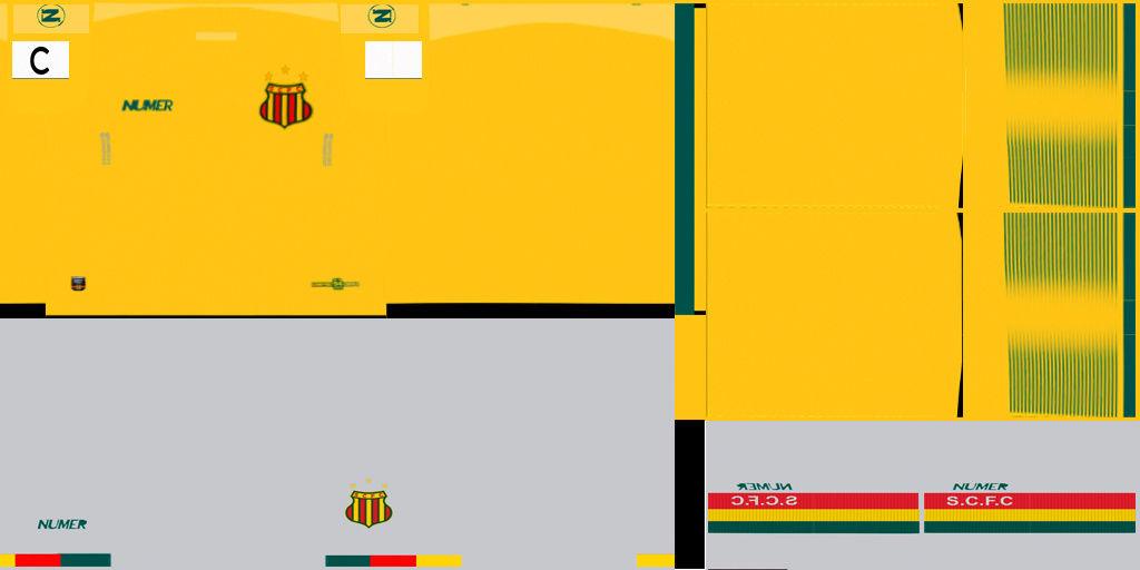 SAMPAIO CORREA 17/18 Kit_210
