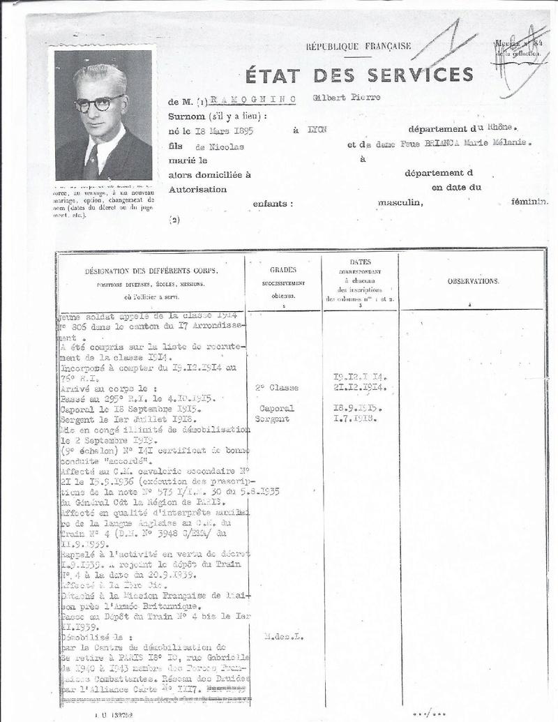 recherche sur Monsieur RAMOGNINO 1e   groupe des commando de France  Etat_d10