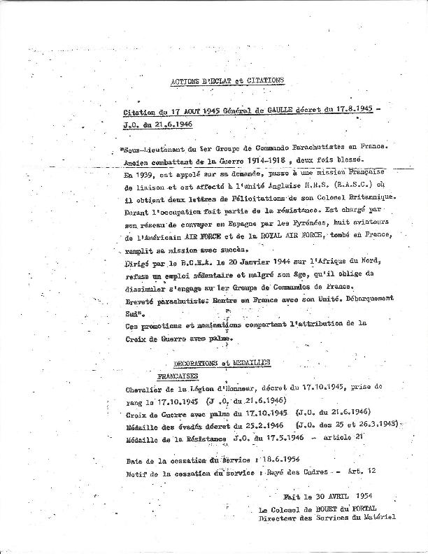 recherche sur Monsieur RAMOGNINO 1e   groupe des commando de France  Gilber10
