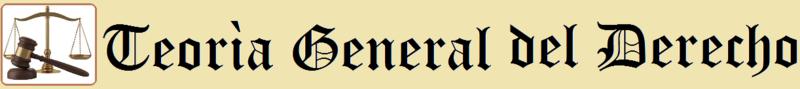 Teorìa General del Derecho (Com 21 y 22)