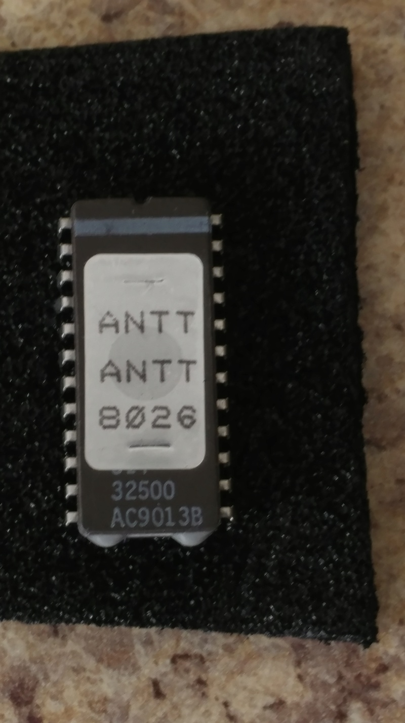 Any idea what this chip goes to ? 03051810