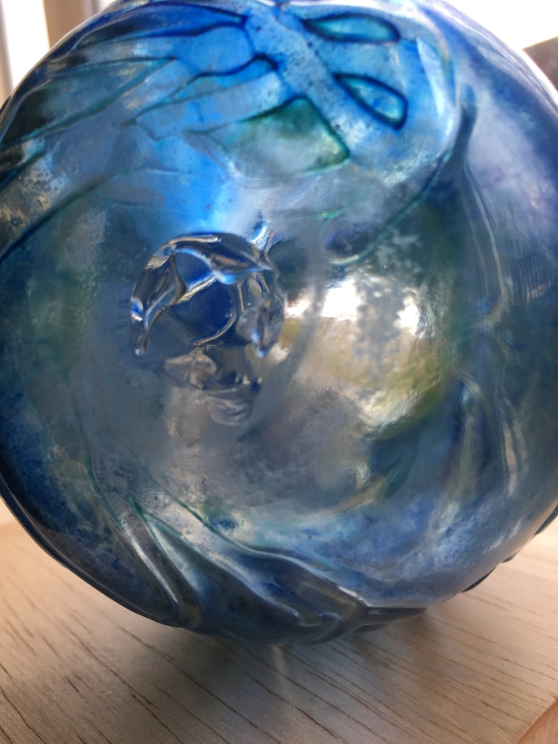 Please help I'd my glass vase approx 5 inch tall  8b77a010