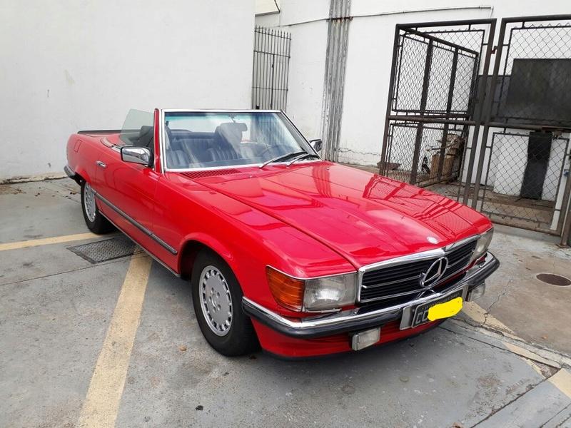 R107 - 500 SL - 1981 (v8) - VERMELHA - R$ 158.000 - VENDIDO Diagon10