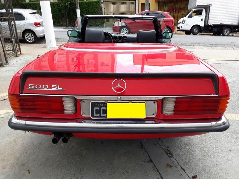 R107 - 500 SL - 1981 (v8) - VERMELHA - R$ 158.000 - VENDIDO Trasei10