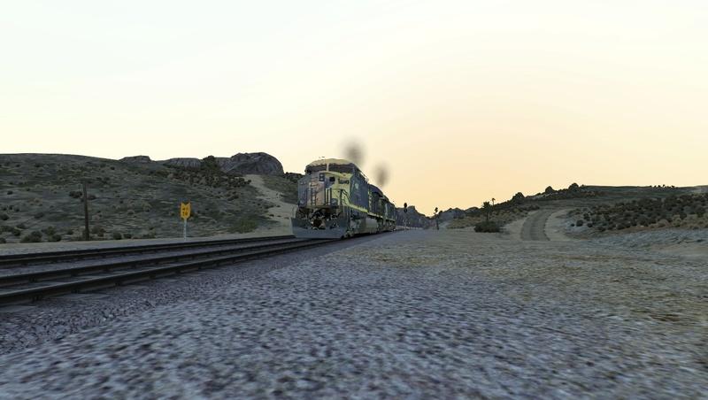 Iniciando operação em Cajon Pass Screen26