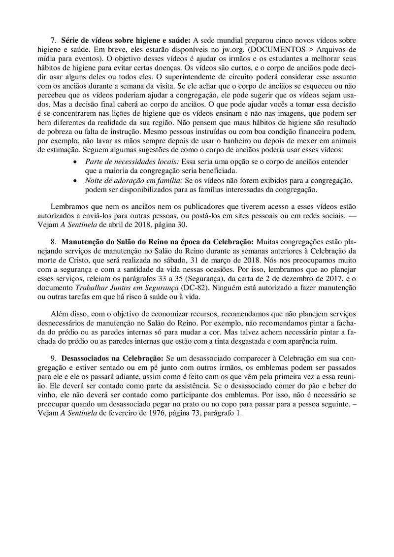 ANUNCIOS - LEMBRETES (MARÇO 2008) S-147-11