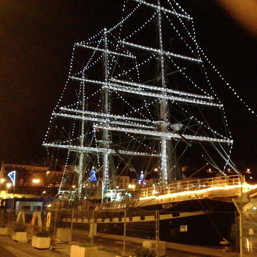 le BELEM c'est paré pour noël a Port-Vendres Img_2021
