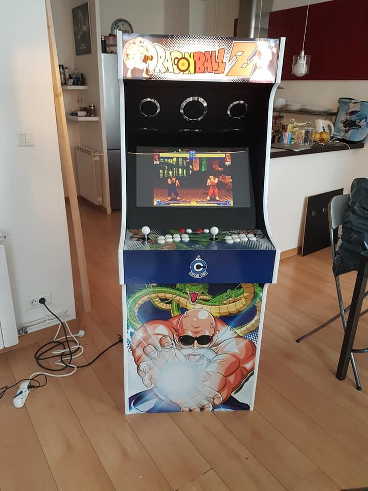 Borne arcade Maison on a franchi le pas 2010