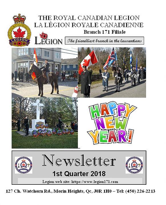 Newsletter 1st Quarter 2018 Nlp110