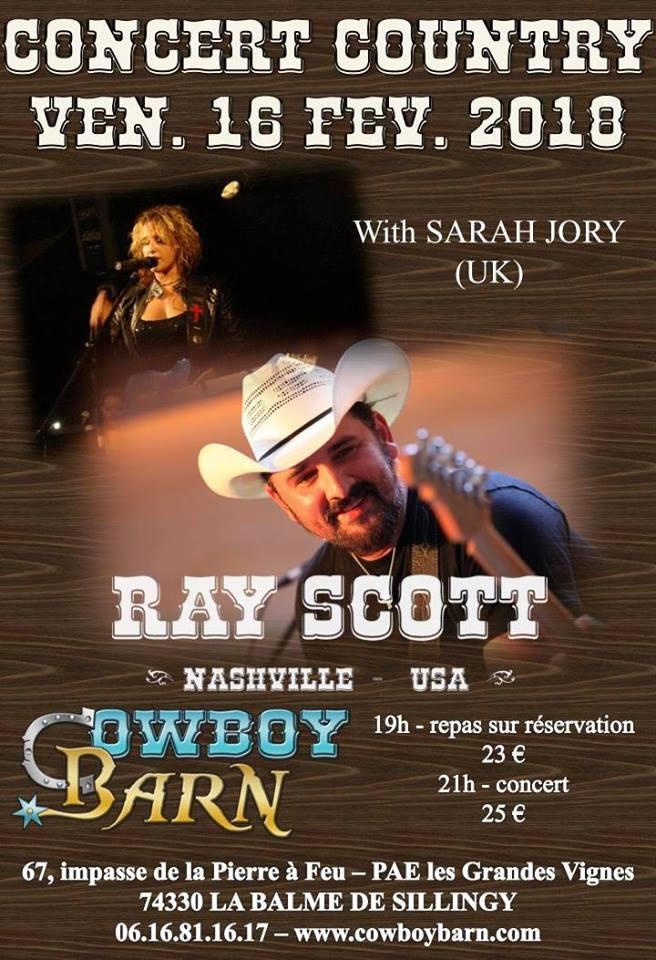 vidéo live de Ray Scott 26239110