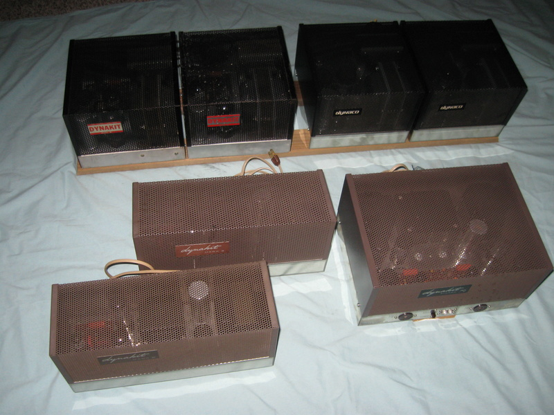 Vintage Dyna tube amp collection complete Img_1110