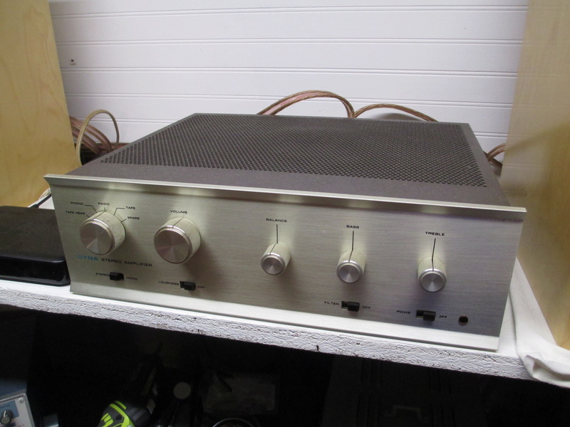 Vintage Dyna tube amp collection complete Img_1811