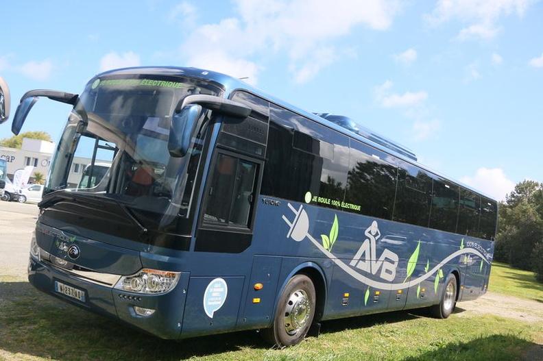 L'autocar tout électrique 14011